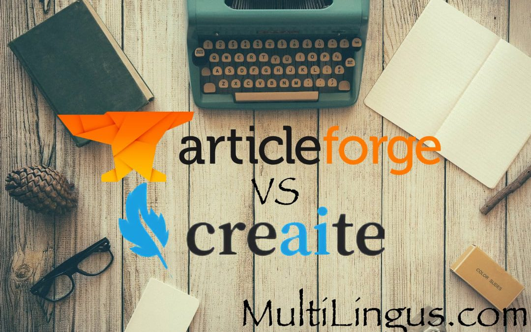 ArticleForge vs Creaite – review and auto-created text comparison – read before you buy.
